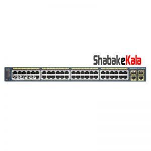 سوئیچ شبکه سیسکو 48 پورت WS-C2960-Plus 48PST-L - شبکه کالا - shabakekala.com