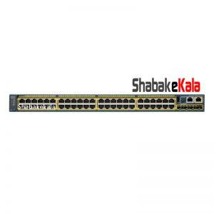 سوئیچ شبکه سیسکو 48 پورت WS-C2960S-48TS-S - شبکه کالا - shabakekala.com
