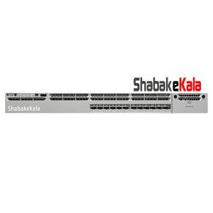 سوئیچ شبکه سیسکو 12 پورت WS-C3850-12XS-S - شبکه کالا - shabakekala.com