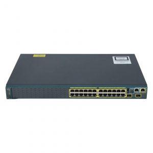 سوئیچ شبکه سیسکو 24 پورت WS-C2960S-24TS-S - شبکه کالا