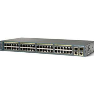 سوئیچ شبکه سیسکو 48 پورت WS-C2960-48PST-S - شبکه کالا