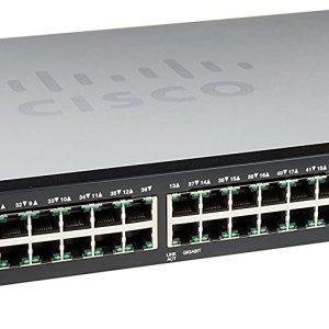 سوئیچ شبکه سیسکو 48 پورت SF300-48 - شبکه کالا
