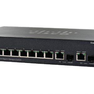 سوئیچ شبکه سیسکو 10 پورت SG300-10PP-K9 - شبکه کالا