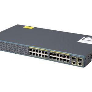 سوئیچ شبکه مدیریتی سیسکو 24 پورت WS-C2960-24TC-S - شبکه کالا