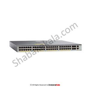 سوئیچ شبکه سیسکو 48 پورت WS-C4948E-F - شبکه کالا - shabakekala.com