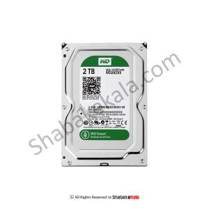 هارددیسک اینترنال وسترن دیجیتال سری سبز مدل WD20EZRX ظرفیت 2 ترابایت - شبکه کالا - shabakekala.com