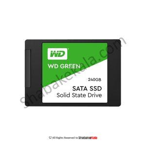 هارد SSD اینترنال وسترن دیجیتال مدل Green WDS240G2G0A ظرفیت 240 گیگابایت - شبکه کالا - shabakekala.com