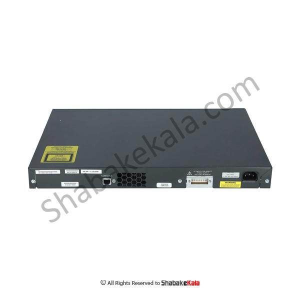 سوئیچ شبکه سیسکو 48 پورت WS-C3560-48TS-S- شبکه کالا - shabakekala.com