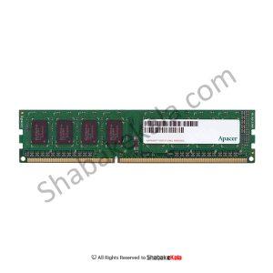 رم کامپیوتر اپیسر UNB PC3-12800 CL11 UDIMM DDR3 1600MHz ظرفیت 4 گیگابایت - شبکه کالا - SHABAKEKALA.COM