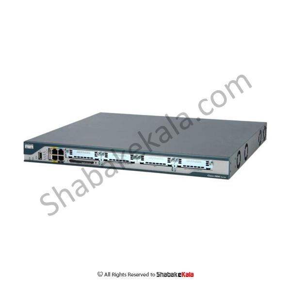 روتر شبکه سیسکو مدل Cisco 2801 - شبکه کالا - shabakekala.com