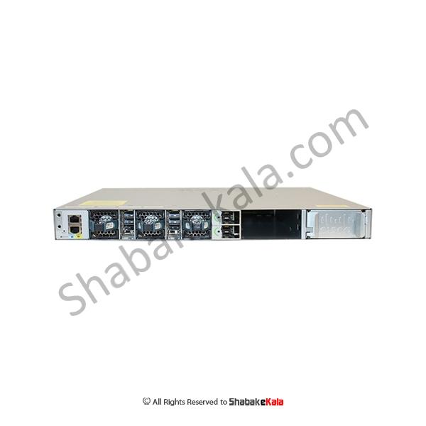 سوئیچ شبکه سیسکو 24پورت مدل WS-C3850-24XS-E - شبکه کالا - shbakekala.com